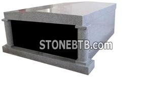 Grey Granite Mausoleum