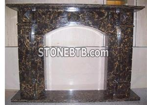 Black Marble Fireplaces