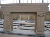 Sandstone Fireplace Mantles