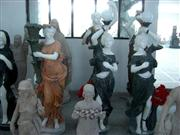 Marble Carved Women Statue