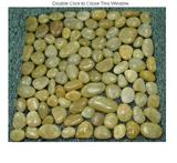 River Cobbles and Pebbles Yellow Natural
