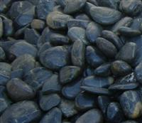 Black Natural Cobbles and Pebbles
