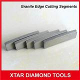 Sandwich Diamond Segments For Granite Edge Cutting Bridge Saw