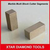 Marble Diamond Segments For Multi Saw Blade Block Saw