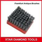Reinforced Silicon Carbide Frankfurt Brushes For Marble