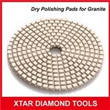 Dry Use Diamond Polishing Pads For Granite Edge Polishing