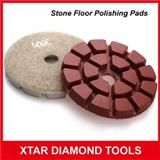 Fast Shinning Diamond Flexible Polishing Pads For Stone Floor