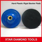 Rigid Plastic Hard Backer Pads For Stone Polishing Pads