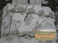 Soundless Stone and Concrete Cracking agent Language Option  French
