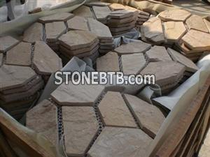 Meshed Flagstone