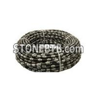 Sanshan 10.5mm/11mm/11.5mm Diamond Spring Wire Saw Cutting Stone With Water Spring Rope Dry Cutting For Marble Quarries