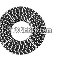 10.5mm/11mm Diamond Wire Saw Cutting Marble Diamond Rubberized Rope For Cutting Marble