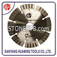 Diamond Turbo Small Granite Dry Cutting Saw Blade