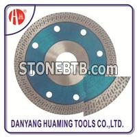 HM-29 Hot Pressed Stone Saw Blade Sintered Turbo Blade For Stone