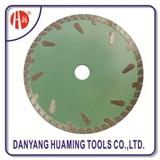 HM-19 Turbo Cutting Diamond Blades With Protect Teeth