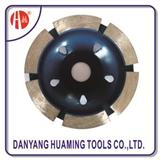 HM-44 Diamond,metal Material Diamond Cup Wheel