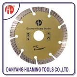 HM-06 Cold-press Turbo Segment Diamond Blade For Marble Cutting