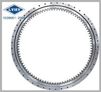 MT series four point contact ball slewing ring bearings