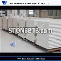 Pure Solid surface professionnal supplier 100% acrylic solid surface