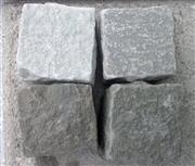 grey green sandstone cube
