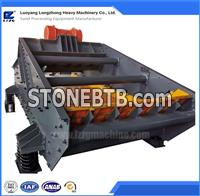 Artificial sand dewatering screen