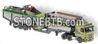100 TPH mobile sand washing plant for sale in Indonesia
