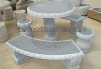 Granite Marble Stone Table and Bench,Garden Furniture