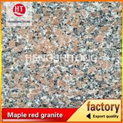 Red granite for stone wall