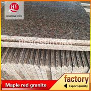 China maple red granite for floor paving