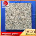 chinese red granite wall cladding
