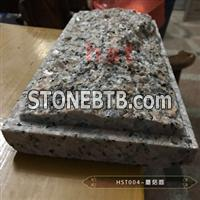 maple red graniteG562 tiles with mushroom surface for wall hanging