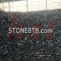 Black granite G654 granite tiles for wall hanging