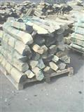 Natural basalt cubes, slabs