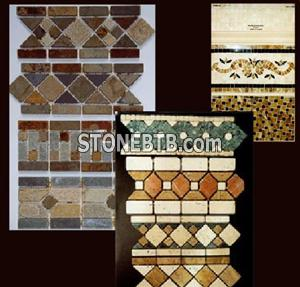 Stone decorative liners