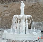 Hand-carved Marble Fountain