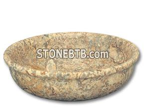 Saffron Brown Laurus Bowl