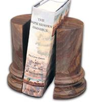 Black and Gold Cerasus Bookends