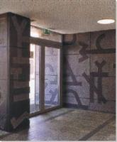Entrance Hall stone works