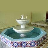Marble Fountain   -  Small Ziarat White