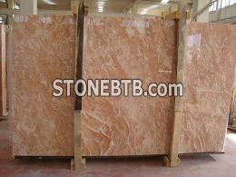Diana Rose Light Marble Slabs