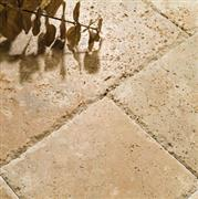 Light Travertine Pattern Chipped, Tumbled