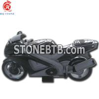 Beautiful Shanxi Black Vivid Motocycle Style Memorials