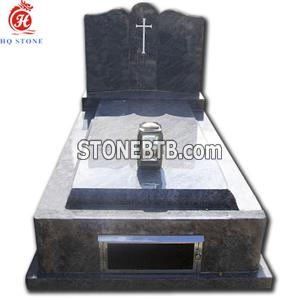 Single Granite Memorials with Light