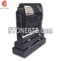 Shanxi Black Upright granite momunents
