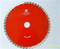 Diamond saw blade and segement for cutting slab