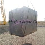 classic brown marble block