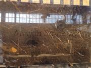 classic brown marble slab