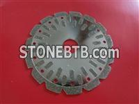 electroplated diamond cutting blade for stone and marble cutting Mary@moresuperhard.com