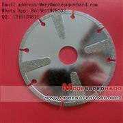 marble discs and diamond blade for stone cutting