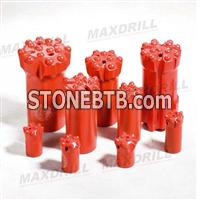 MAXDRILL Thread Button Bit